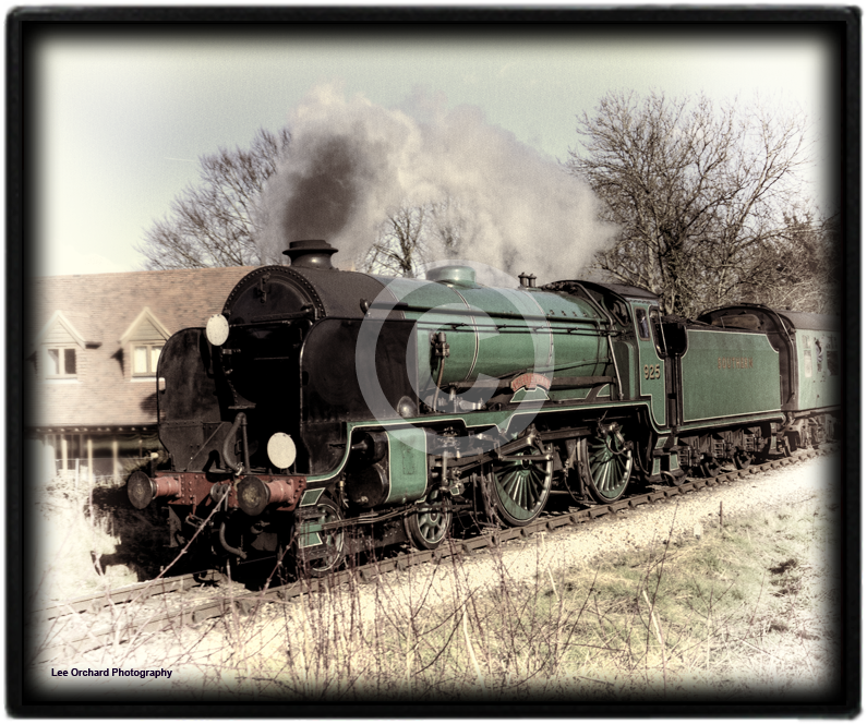 Steam Train on the Watercress Line
